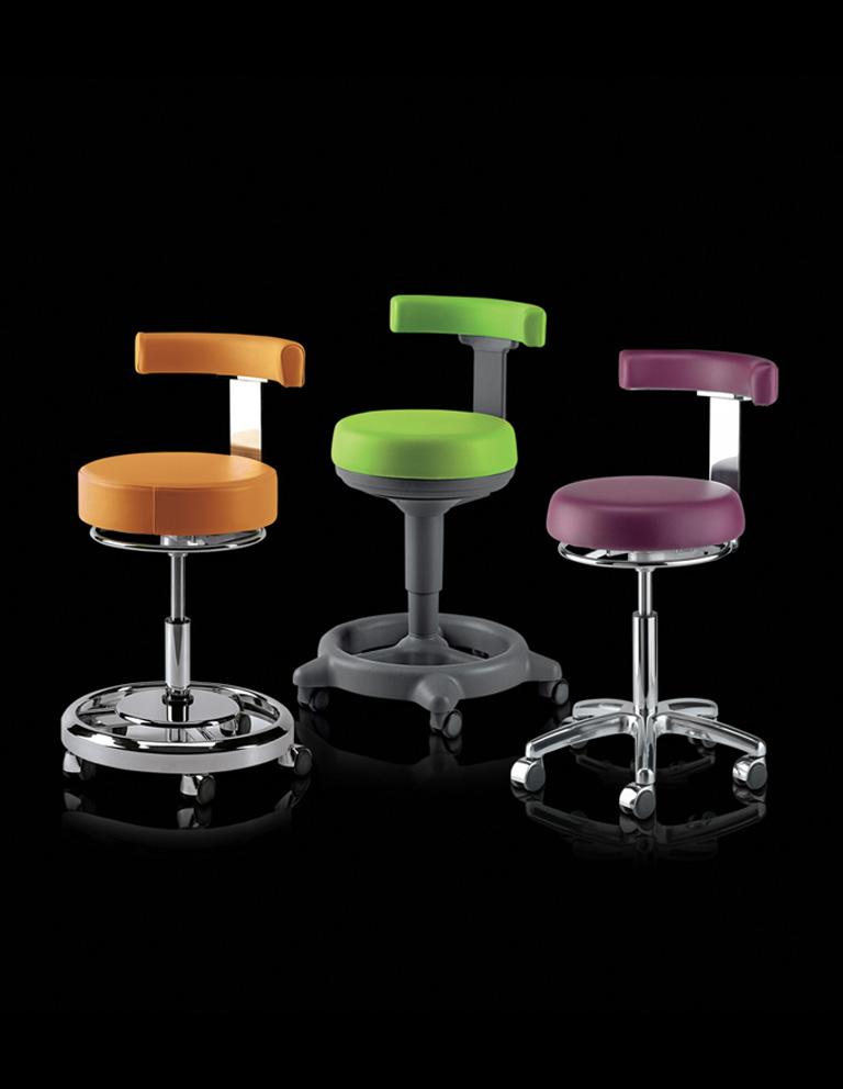 seggiolini odontoiatrici - stools
