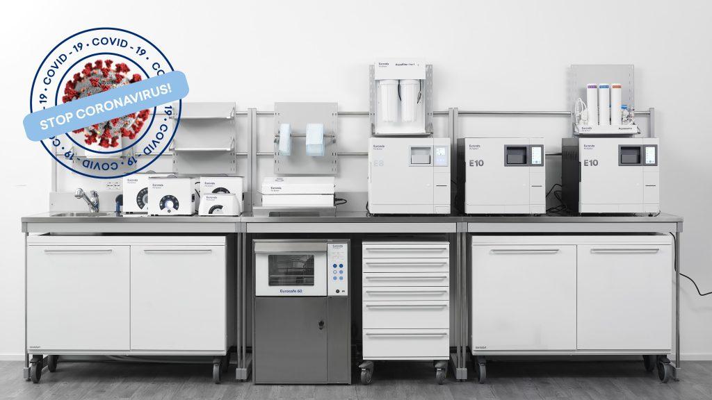 Linea sterilizzazione Euronda Pro System